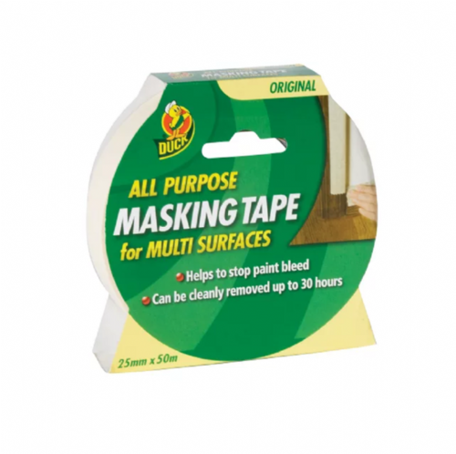 Shurtape 232317 Duck Tape All Purpose Masking Tape 25mm x 50m